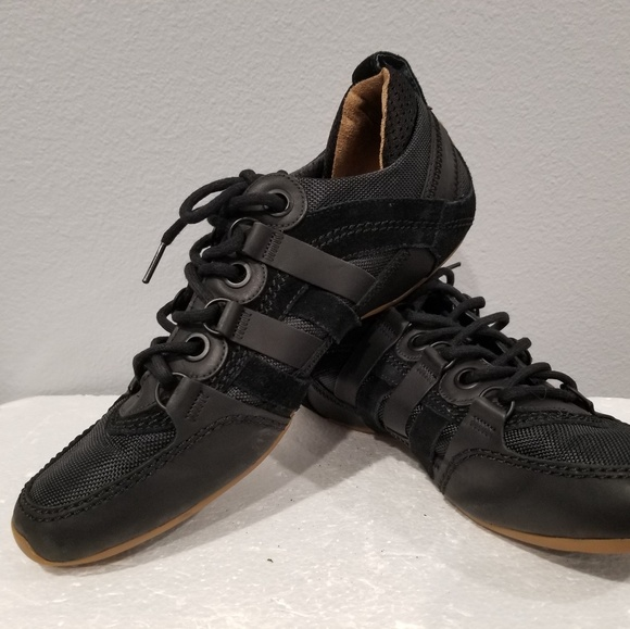 b65c62d46d1dab Tsubo Mens Shoes Size 10 Rubber Suede lace up Blk.  M 5b8ceaa095199694cc1eeace